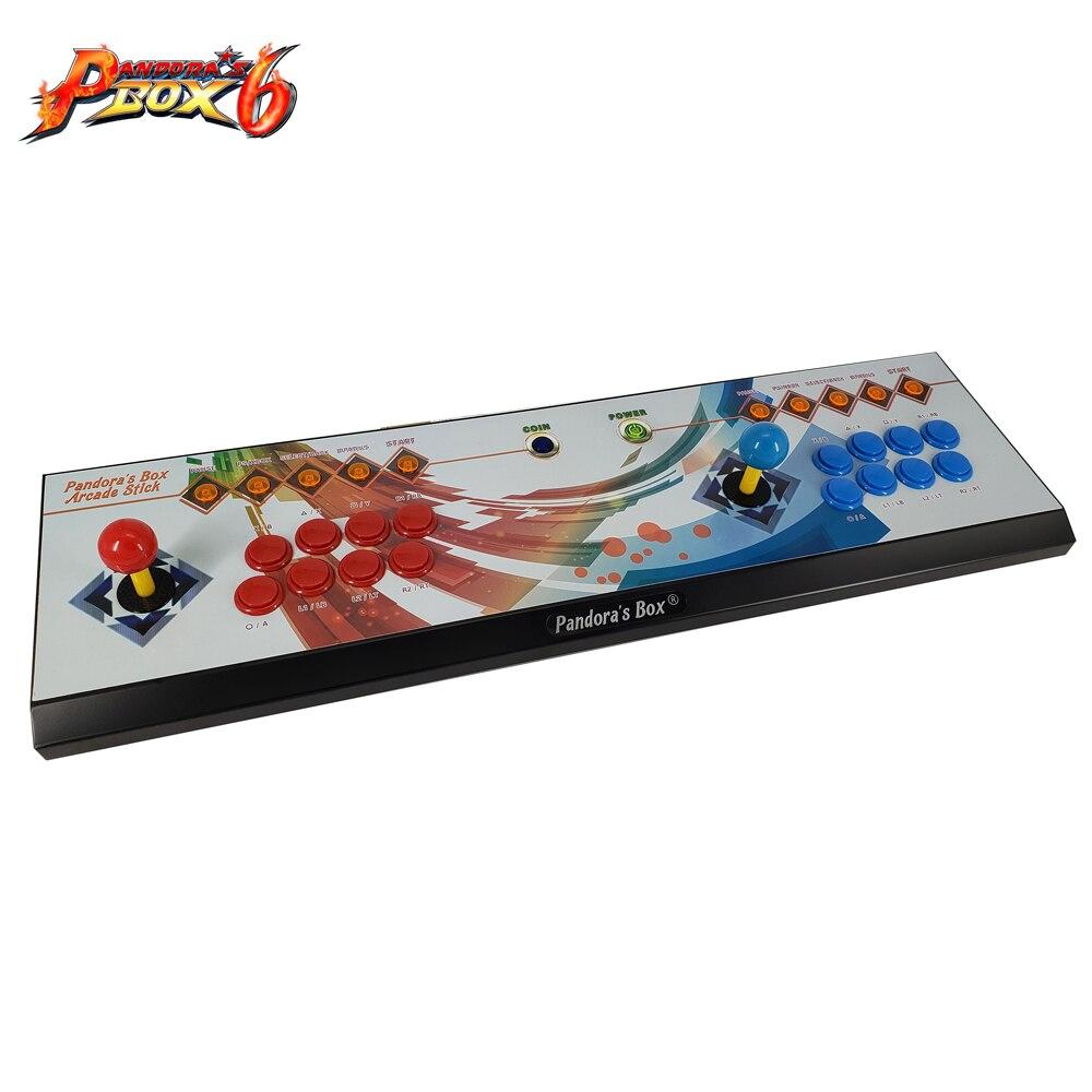 Il Vaso di Pandora 6 8 Pulsante di Arcade Console 1300 in 1 in Grado di Aggiungere 3000 Giochi di 2 Giocatori Hdmi Vga Usb joystick per Pc Video Game Ps3 Tv - 3