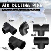42/60/75mm saída de ventilação de ar t l peça aquecedor duto tubo de escape conector de ar diesel acessórios aquecedor de estacionamento|Peças do aquecedor|   -