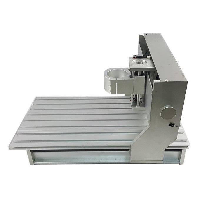Holzbearbeitung maschinen CNC 6040 rahmen 3 achse ohne motor aluminium metall stecher