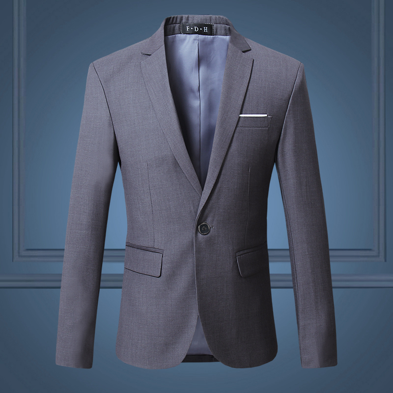 (10 Colors) High Quality Men's Business Professional Dress Blazer, Large Size Fashion Business Solid Color Slim Jacket Men's 6XL