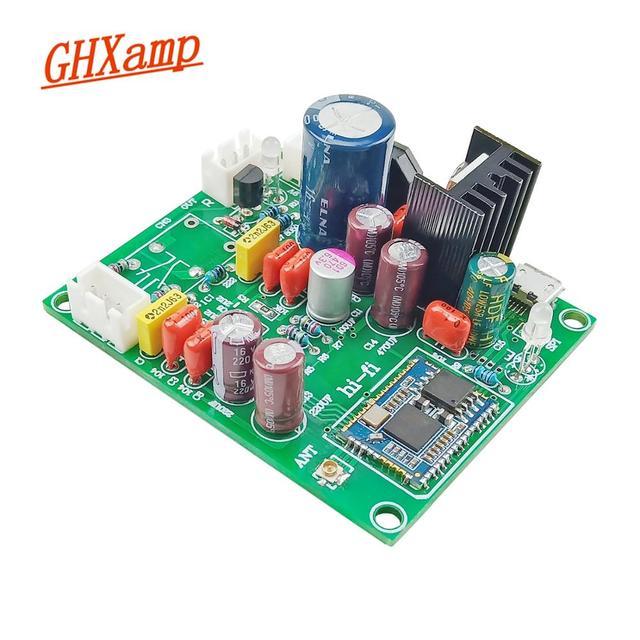 Aggiornato QCC3034 APTX Bluetooth 5.1 ricevitore scheda Audio portatile PCM5102A scheda di decodifica Stereo Pure Music funzione 8 12V