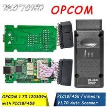 2021 v1.70 opcom v1.78 op com v1.99 opcom v1.70 para opel obd2 OP-COM ferramenta de diagnóstico do varredor da relação com pic18f458 chip