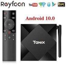 Android 10.0 TV Box Tanix TX6S 2.4G 5.8G Dual Wifi Allwinner