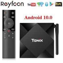Tanix TX6S TV, pudełko Android 10 Allwinner H616 czterordzeniowy 2.4G 5G podwójny Wifi BT 4.0 4K Google Player Youtube Media TVBOX 2G 4G zestaw do
