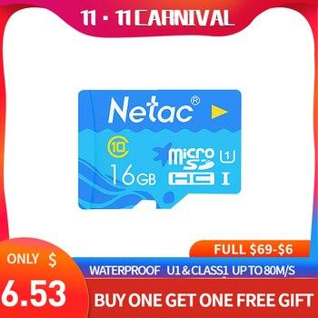 Netac P500 blue ocean micro sd card 32gb class10 memory cards attach adapter cartao for smartphone laptop suntrsi tablet grade