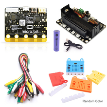 BBC Micro:bit Starter Kit with Micro:bit Breakout Board,Microbit Board case and Alligator Clips Used for Teaching DIY Beginners elecfreaks ef08180 microbit starter kit