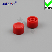 15pcs A35 higher 6 touch switch hat cylindrical key cap suitable for x square head red