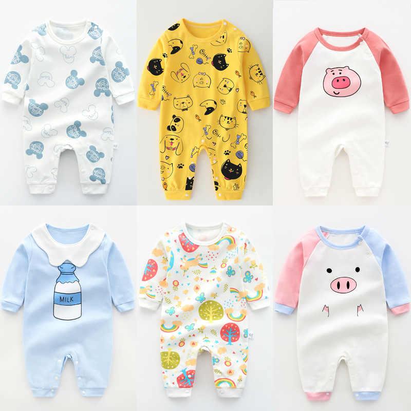 Mono de bebé recién nacido ropa de bebé niño de una pieza traje de dibujos animados pelele ropa infantil