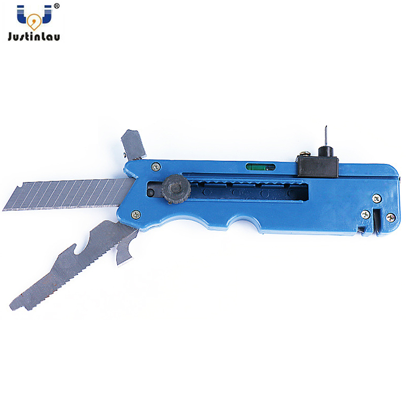JUSTINLAU New Professiona Tile Cutter Glass Cutter Six Wheel Metal Cutting Kit Tool Multifunction Tile Plastic Cutter