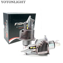 Super Lampada H4 Led Bulb Led Lamp H4 Car Headlight 70W 15000lm HB2 9003 Luces Led H4 Para Auto Motorcycle 6000K 12v лампа skyway h4 24v75 70w w