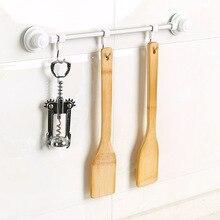 Бытовой бамбуковый с антипригарным покрытием лопаточка для сковороды Кухня кастрюля ложка-Лопатка Пособия по кулинарии посуда ужина Еда лопатки для вока из прутка 30x6 см