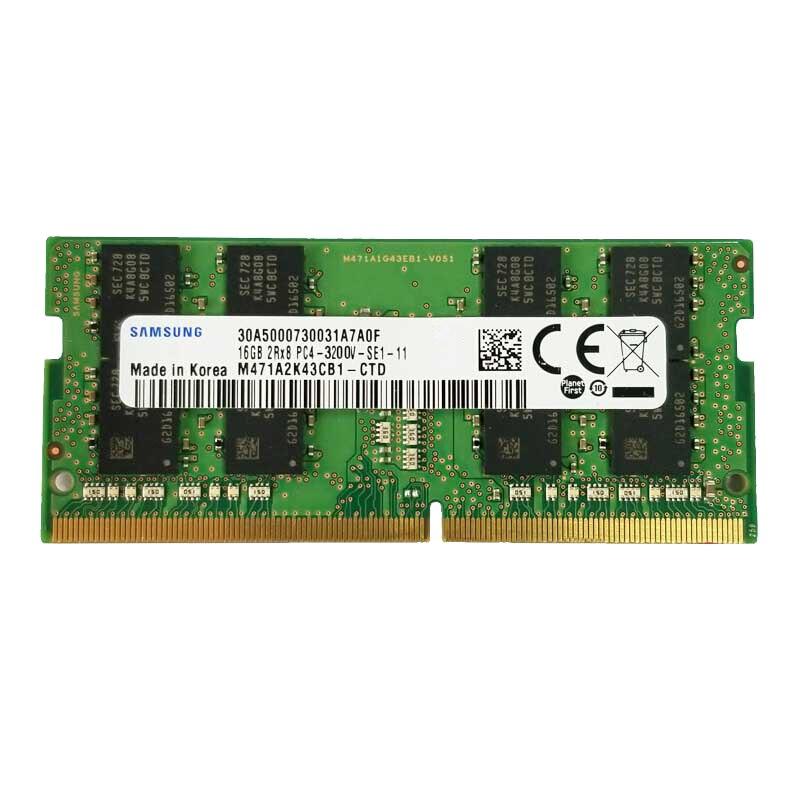 Samsung ddr4 16GB 3200MHz ram sodimm dizüstü bellek desteği memoria ddr4 16G dizüstü RAM PC4 PC3-M471A2K43CB1-CPB