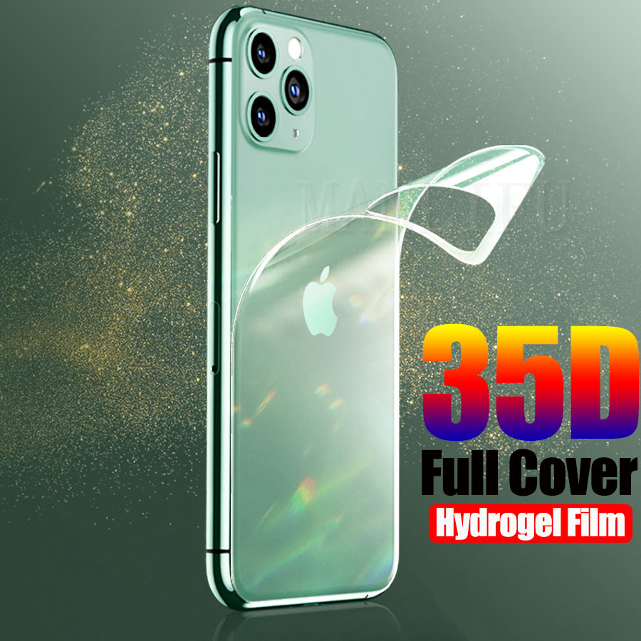 35D Full Cover Hydrogel Film For IPhone 11 Pro 7 8 Plus XS Max Screen Protector Protection For Apple Iphone 11 Pro Max Not Glass