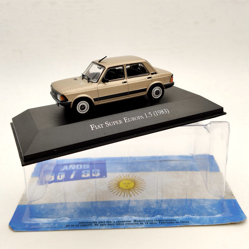 IXO Fiat Super Europa 1.5 1983 Diecast Models Limited Edition Collection 1:43 Toys Gift Car