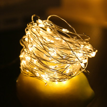 waterproof copper wire fairy garland home christmas wedding party decoration led string light 10m 5m 3m 2m powered by battery LED String Light 2M 3M 5M 10M Copper Wire Fariy Light,Battery Operated Garland Decoration Wedding Christmas Light Party Lights