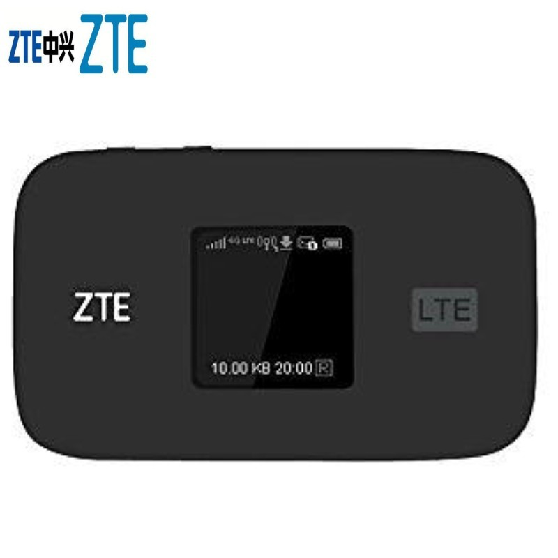 Original Unlocked ZTE MF971V 300Mbps 4G+ LTE Cat6 Mobile WiFi Hotspot 4G Mifi Bands FDD B1/2/3/4/5/7/8/17&12/20/28 And TDD B38
