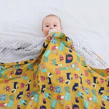 Мягкое плюшевое одеяло для новорожденных herenice детское вязаное