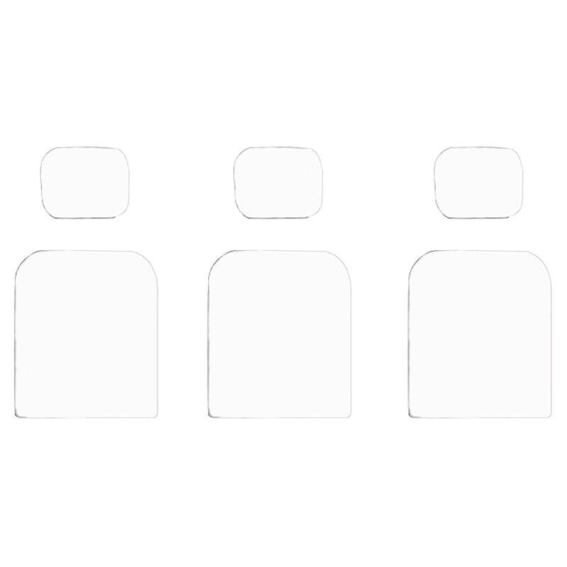 AAAE Top-6Pc/Lot pantalla de la película de la Lente de la Cámara de la película protectora de la Cámara Osmo soporte de la bolsa 5 M/10 M impermeable PVC Auto adhesivo papel pintado cocina luz de pared para baño pegatinas azulejos pegatina mosaico patrón película decorativa
