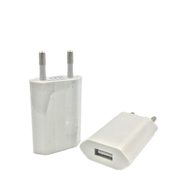 USB настенное зарядное устройство мобильный телефон зарядное устройство штепсельная вилка ЕС дорожный домашний адаптер переменного тока дл...