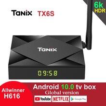 Tanix TX6S Android 10.0 TV Box Allwinner H616 4GB 64GB 2.4G