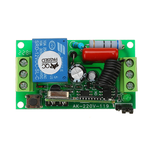 Image 4 - AC220V 1channel 10A Wireless Remote Control Switch Relay 315MHz 433MHz Output Radio Receiver Module With Waterproof Transmitter