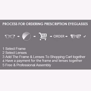 Image 5 - KANSEPT 1.56 endeksi fotokromik gri/kahverengi asferik reçete marka reçine lensler Anti UV yağı su yansıtıcı gözlük Lens