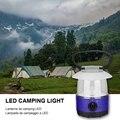 Портативный фонарь для кемпинга  светодиодный светильник для палатки  подвесной светильник  батарея 4XAA для наружного туризма  кемпинга  пут...