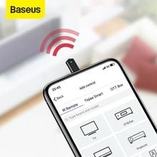 Беспроводной ИК пульт дистанционного управления Baseus для Samsung Xiaomi с разъемом Type C, умный инфракрасный пульт дистанционного управления для телевизора, проектора кондиционера
