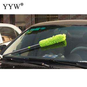 Image 2 - 1pc Dust Clean Holder Flexible Duster Brush Static Anti Dusting Cleaner Brush Home Air Condition Car Furniture Cleaning Tools