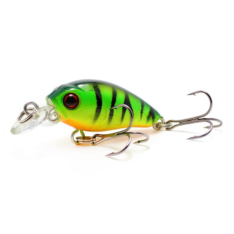 45mm 4.1g Crankbait Fishing Lure Artificial Hard CrankBait Bass Fishing Wobbler Japan Topwater Minnow Fish Lures 30mm 1.6g