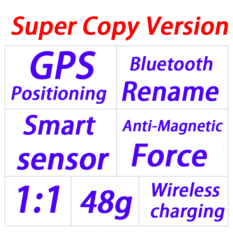 Super Copy 2 Airpodding AIR 2 Wireless Bluetooth Earphone 5.0 Earbuds Headphones air2 1:1 supercopy best quality Rename + GPS