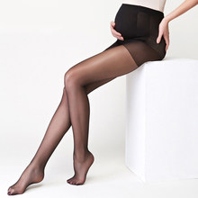 Pregnant Women Sexy Over Knee Hosiery Stockings Above Thigh High Mesh Stretch Pantyhose Large Size Underpants(China)