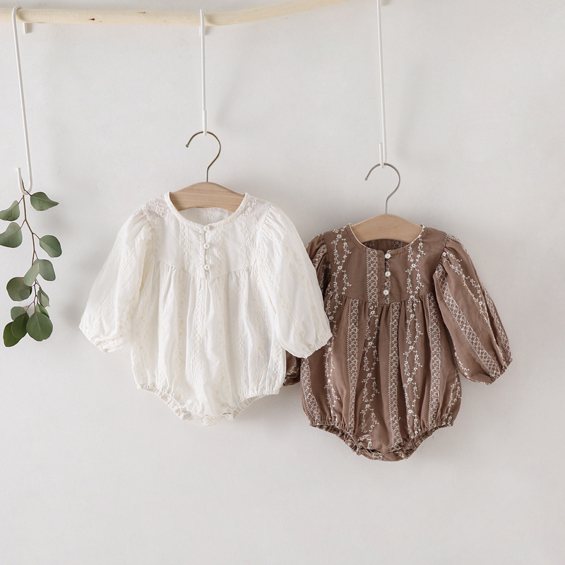 998.0¥ 46% OFF|MILANCEL 2021 Baby Clothing Newborn Clothes Toddler Girls Bodysuits Inafnt One Piece...