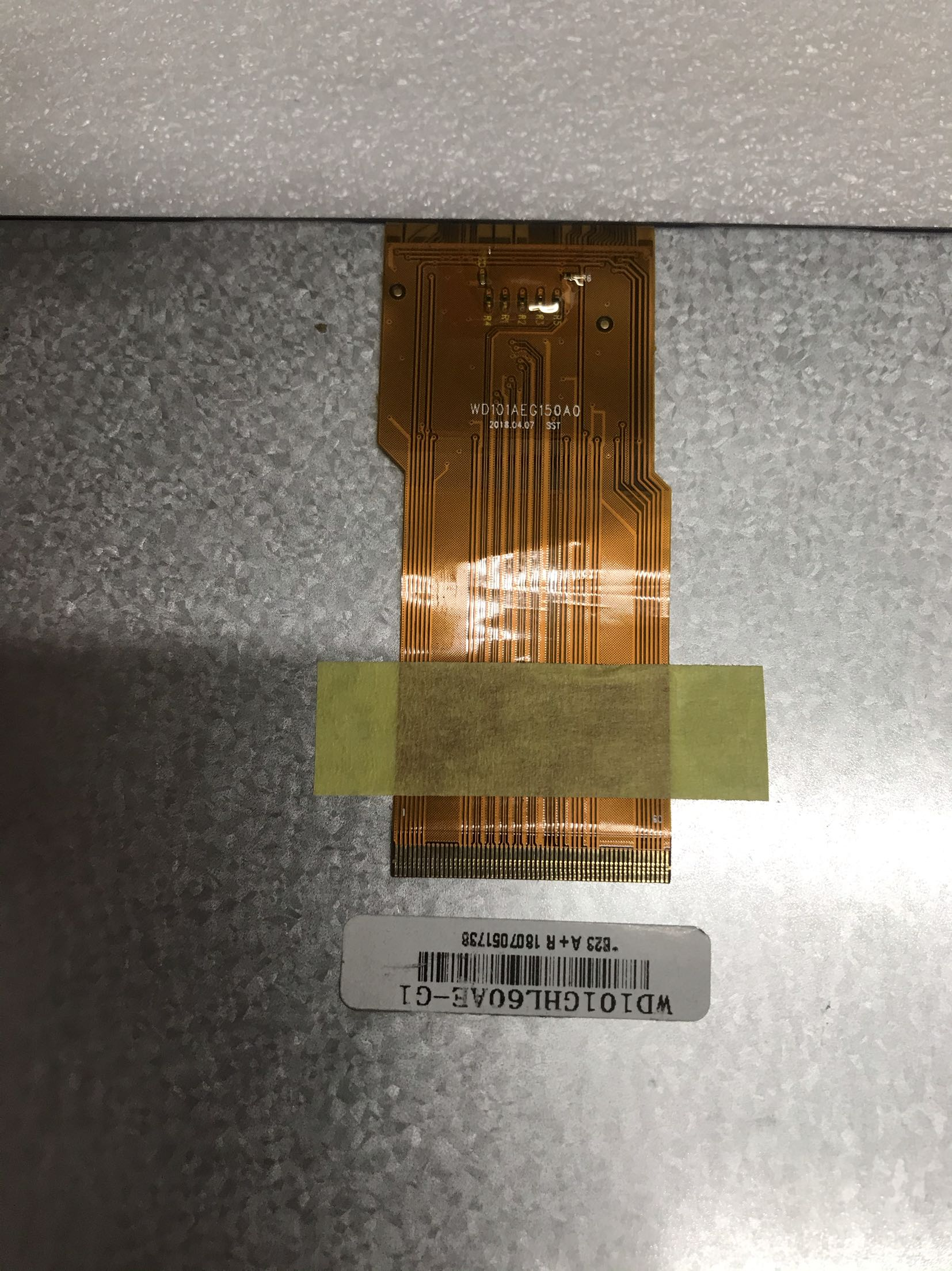WD101GHL60AE-G1 WD101AEG150A0 for Tablet computer LCD Displays screen