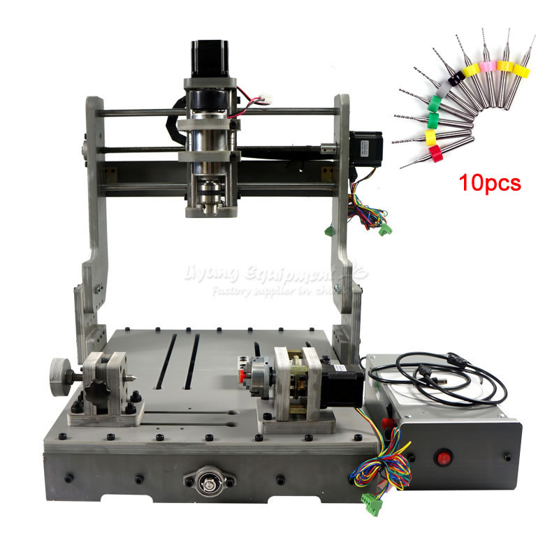 4 Axis CNC Milling Machine CNC 3040 Diy 3D Usb Drilling And Engraving Machine