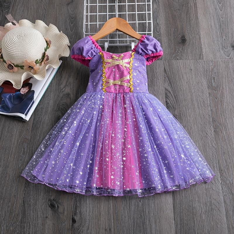 H7ebe43b3c40a4a39b2a00c3b44c72330r Princess Kids Baby Fancy Wedding Dress Sequins Formal Party Dress For Girl Tutu Kids Clothes Children Backless Designs Dresses