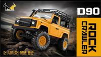 Kuulee 1:12 2.4G Remote Control High Speed Off Road Truck Vehicle Toy RC Rock Crawler Buggy Climbing Car D90 Kid Boy Toys
