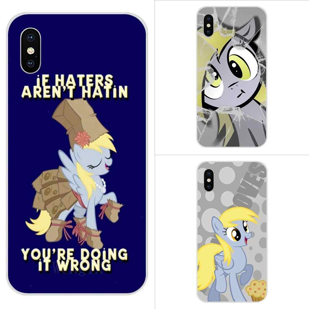 My Little Pony Derpy Hooves For Xiaomi Redmi Note 2 3 3S 4 4A 4X 5 5A 6 6A Pro Plus Soft TPU Phone Case Skin Cover