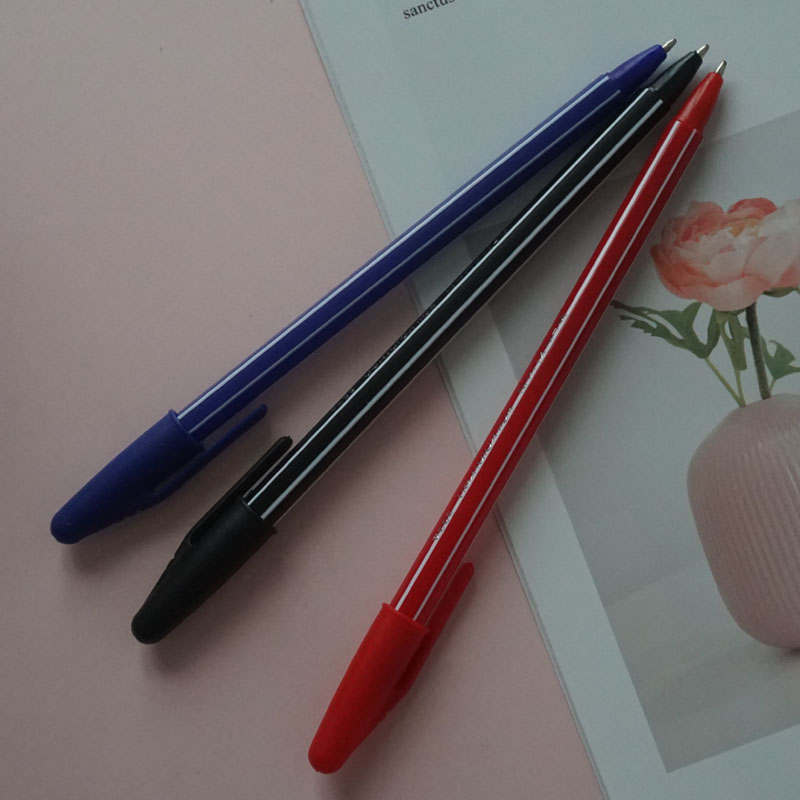 Three-color Ballpoint Pen Simple And Comfortable Trend