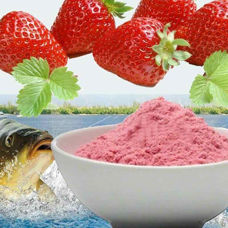 20g Strawberry Flavor Additive Carp Fishing Fishing Bait Scent Making BEST J8H4