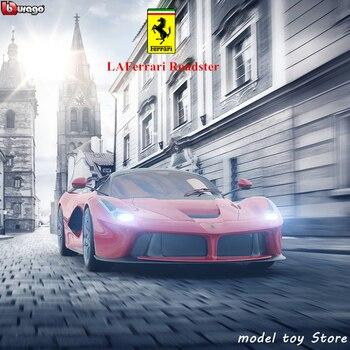 Bburago 1:24 Ferrari Roadster Car Model Die-casting Metal Model Children Toy Gift Simulated Alloy Car Collection цена 2017