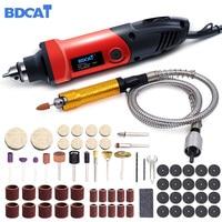 Bdcat 400 w mini broca ferramenta rotativa de velocidade variável moedor elétrico gravura máquina polimento ferramenta elétrica com acessórios dremel
