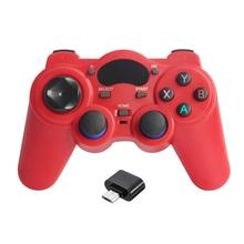Smart Ponsel Nirkabel Handle Gamepad untuk Android Ponsel/Komputer PC/PS3/TV Box Joystick 2.4G Joypad permainan Remote Pad(China)