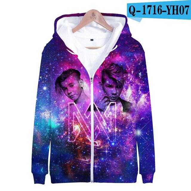 3 To 14 Years Kids Hoodie Marcus and Martinus 3D Hoodies Sweatshirt Boys Girls Fashion Harajuku Jacket Coat Children Clothes 12