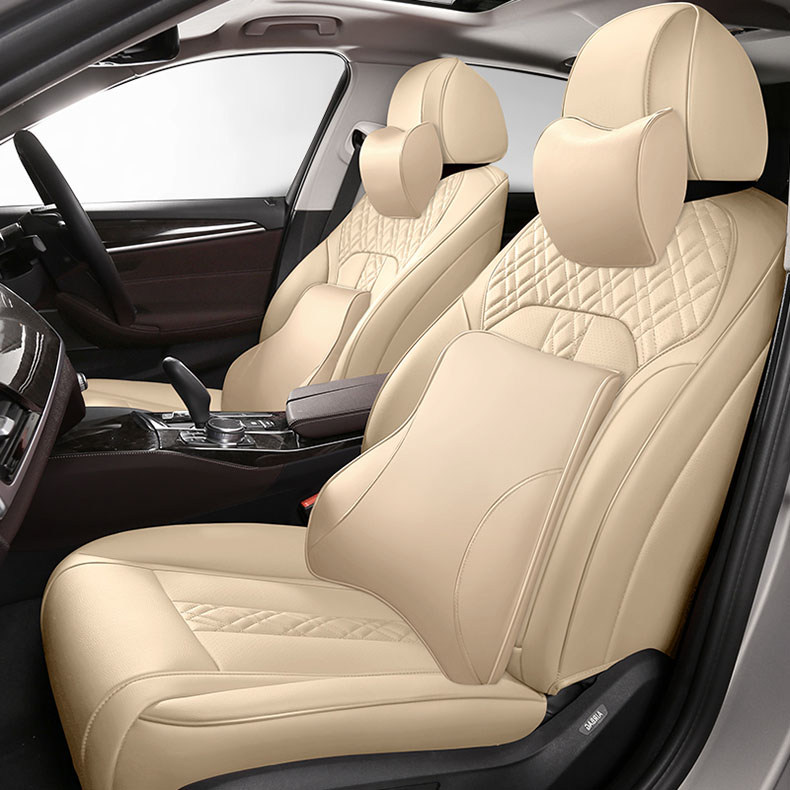 custom cowhide car seat cover for auto toyota crown jeep4500 C HR YARIS L LEVIN IZOA FS REIZ VIOS auto Seat Covers accessodries|Automobiles Seat Covers| |  - title=