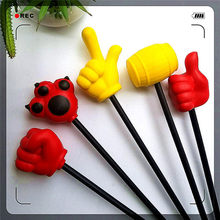 Pu Little Finger Hammer Foaming Foam Polyurethane Thumb Forefinger Weapon Pole Handle Inflatable Hammer Pu Finger(China)