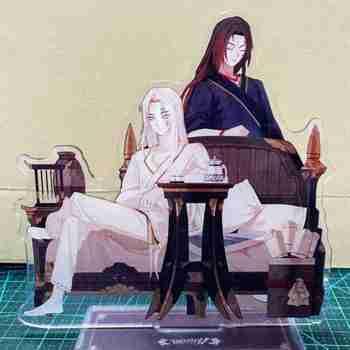 Gra Identity V Anime akrylowy stojak Model figurki czarny biały strażnik Emma Woods Joseph Delaones dekoracja na biurko prezenty świąteczne tanie i dobre opinie COSJK CN (pochodzenie) GAME Unisex Dla dorosłych Akcesoria BMH56 Akrylowe Kostiumy