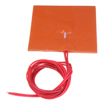 Universal Heating Pad 100x100mm 12V 50W Silicone Bed For 3D Printer Flexible System Accessories