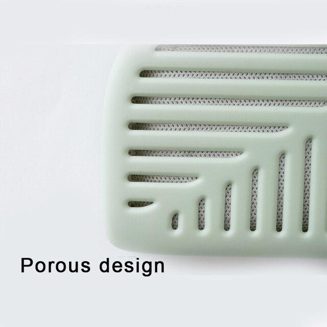 Feuille verte forme réfrigérateur Air fraîcheur boîte purificateur charbon de bois désodorisant absorbeur désodorisant éliminer les odeurs odeur UD88