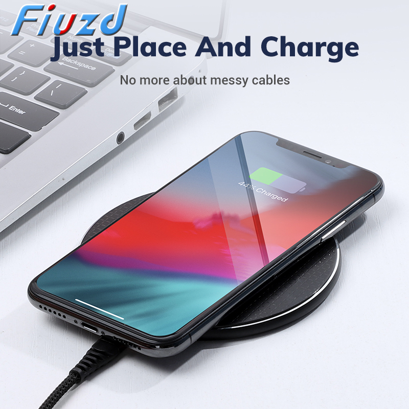 QI Wireless Charger For Huawei P20 P30 Lite IPhone Xs Max X 8 Plus 10W Fast Charging Pad For Samsung Note 9 Note 8 S10 Plus